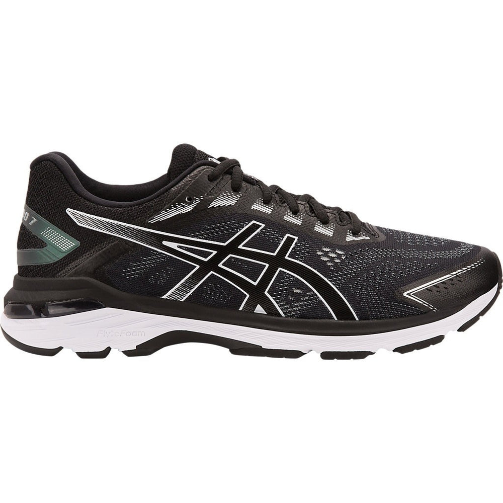 Asics Men's GT 2000 7 Running Shoes Black / White