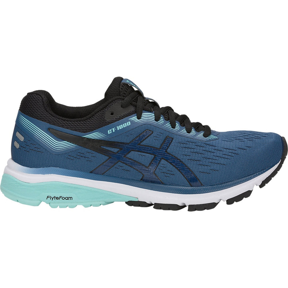 Asics Women's GT 1000 7 Running Shoes Grand Shark / Black