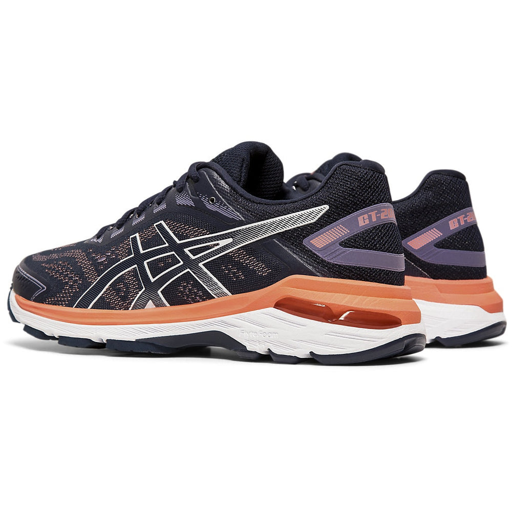 Asics Women's GT 2000 7 Running Shoes Midnight / Midnight - achilles heel
