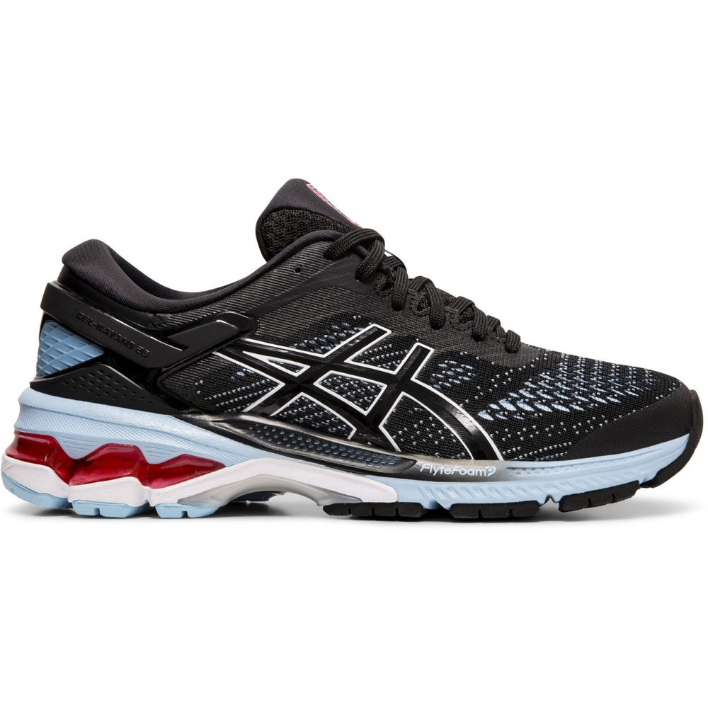 Asics Women's Gel Kayano 26 Running Shoes Black / Heritage Blue