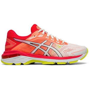 Asics Women's GT 2000 7 Running Shoes White / Laser Pink - achilles heel