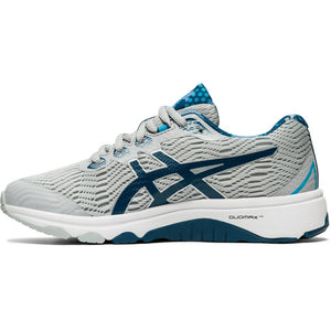 Asics Kids GT 1000 8 Running Shoes Piedmount Grey / Marko Blue - achilles heel