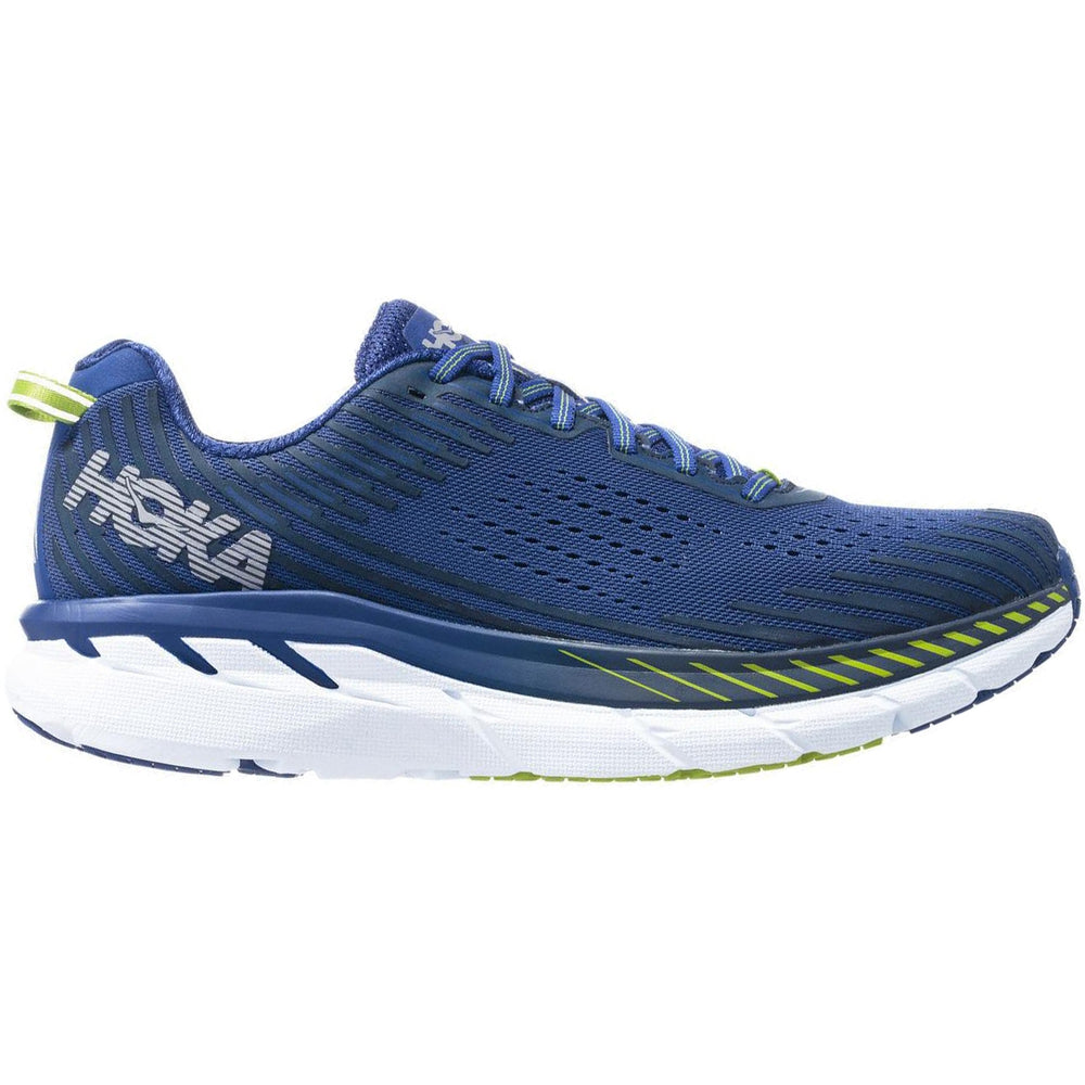 Hoka Men's Clifton 5 Running Shoes Blue & Indigo SS19