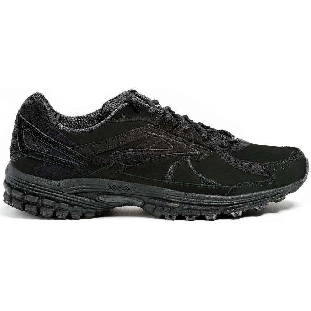 Brooks Men's Adrenaline Walker 3 Walking Shoes Black - achilles heel