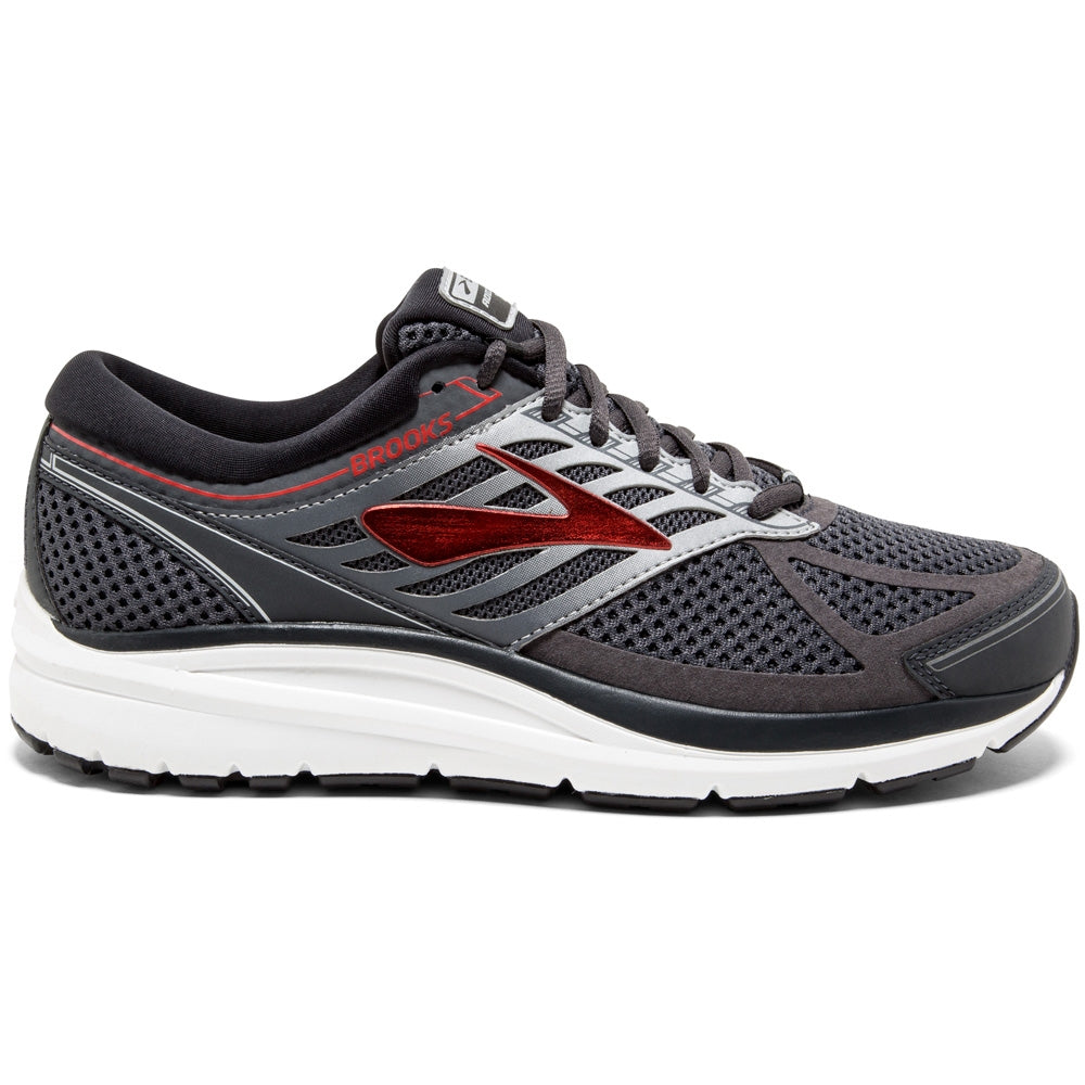 Brooks Men's Addiction 13 Running Shoes Ebony / Black / Red