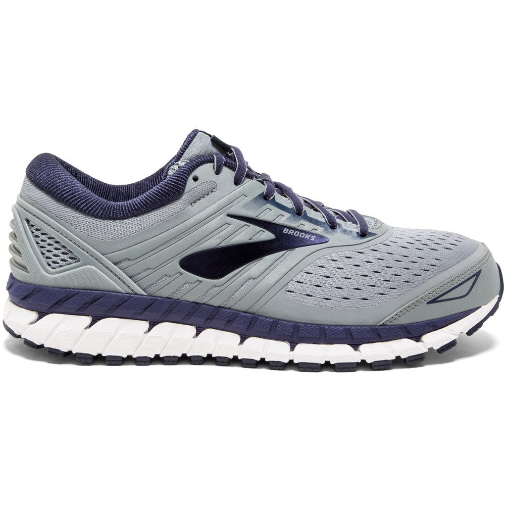 Brooks Men's Beast 18 Running Shoes Grey / Navy / White