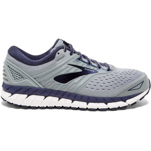 Brooks Men's Beast 18 Running Shoes Grey / Navy / White - achilles heel