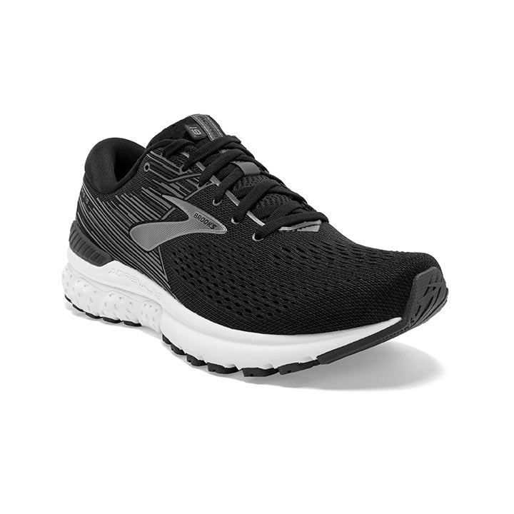 Brooks Men's Adrenaline GTS 19 Running Shoes Black / Ebony / Silver