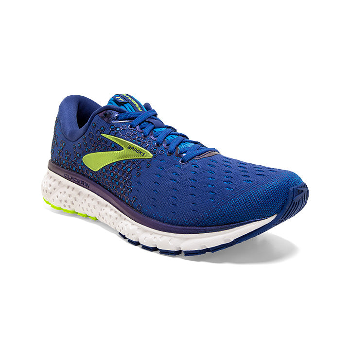 Brooks Men's Glycerin 17 Running Shoes Mazarine / Blue / Nightlife - achilles heel