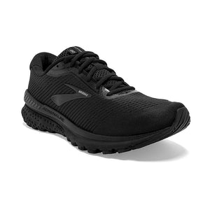 Brooks Men's Adrenaline GTS 20 Running Shoes Black / Grey - achilles heel