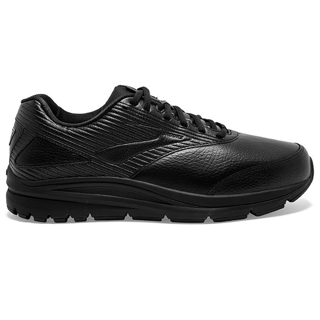 Brooks Men's Addiction Walker 2 Walking Shoes Black / Black - achilles heel
