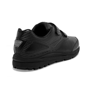 Brooks Men's Addiction Walker 2 V-Strap Walking Shoes Black / Black - achilles heel