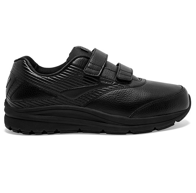 Brooks Men's Addiction Walker 2 V-Strap Walking Shoes Black / Black
