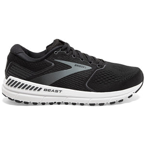 Brooks Men's Beast 20 Running Shoes Black / Ebony / Grey - achilles heel
