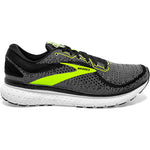 Brooks Men's Glycerin 18 Running Shoes Black / White / Nightlife - achilles heel