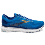 Brooks Men's Glycerin 18 Running Shoes Blue / Mazarine / Gold - achilles heel