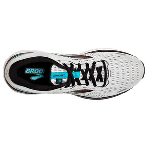 Brooks Men's Ghost 13 Running Shoes Grey / Black / Capri - achilles heel