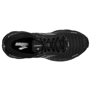 Brooks Men's Ghost 13 Running Shoes Black / Black - achilles heel