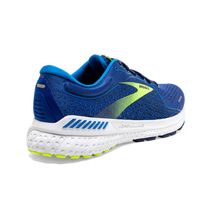 Brooks Men's Adrenaline GTS 21 Running Shoes Blue / Indigo / Nightlife - achilles heel