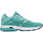 Mizuno Women's Wave Rider 23 Running Shoes Blue Turquoise