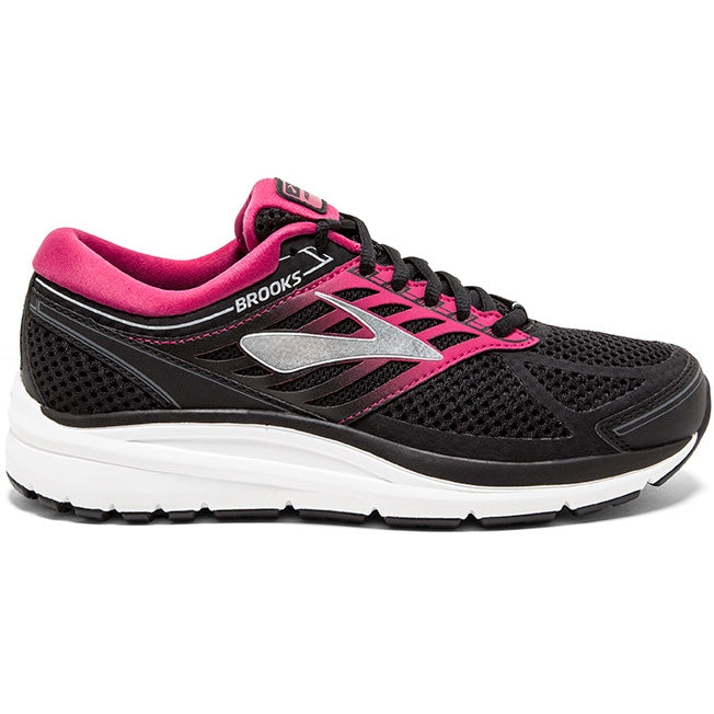 Brooks Women's Addiction 13 Running Shoes Black / Pink / Grey