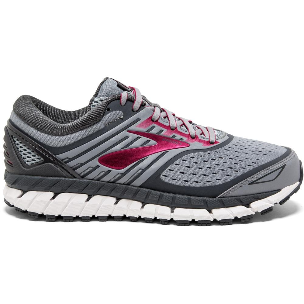 Brooks Women's Ariel 18 Running Shoes Grey / Grey / Pink