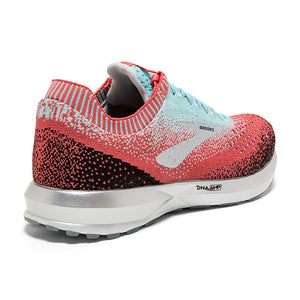 Brooks Women's Levitate 2 Running Shoes Coral / Blue / Black - achilles heel