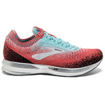 Brooks Women's Levitate 2 Running Shoes Coral / Blue / Black