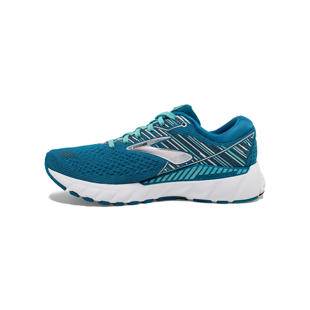 Brooks Women's Adrenaline GTS 19 Running Shoes Blue / Aqua / Ebony - achilles heel