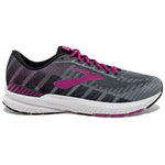 Brooks Women's Ravenna 10 Running Shoes Ebony / Black / Wild Aster - achilles heel