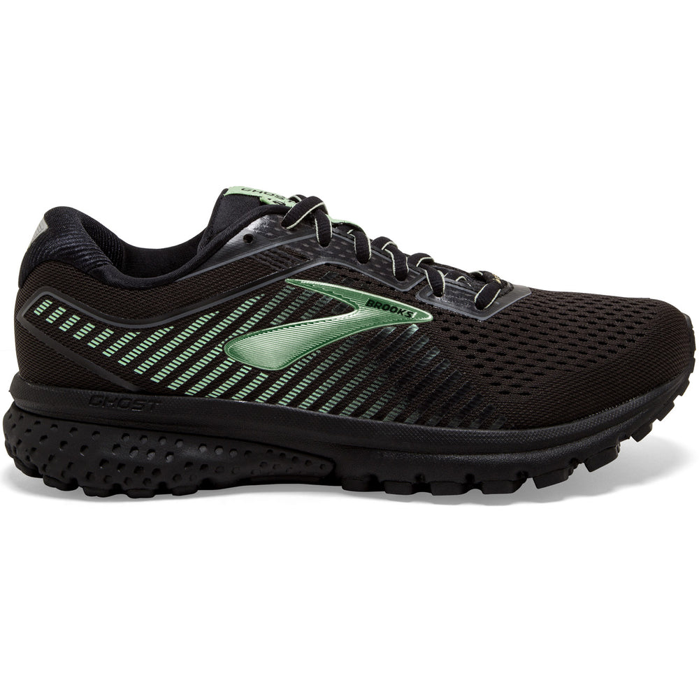 Brooks Women's Ghost 12 GORE-TEX Running Shoes Black / Ebony / Aqua