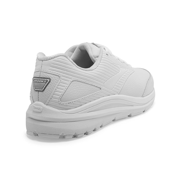 Brooks Women's Addiction Walker 2 Walking Shoes White / White - achilles heel