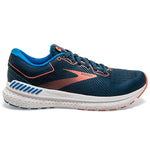 Brooks Women's Transcend 7 Running Shoes Majolica / Navy / Desert - achilles heel