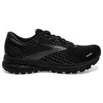 Brooks Women's Ghost 13 Wide Fit Running Shoes Black / Black - achilles heel