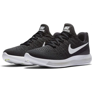 Nike Women's LunarEpic Low Flyknit 2 Running Shoes Black / White / Anthracite - achilles heel