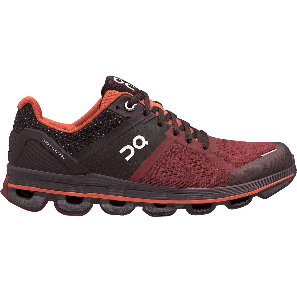 On Women's Cloudace Running Shoes Ruby & Lava