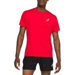 Asics Men's Silver Tee Classic Red