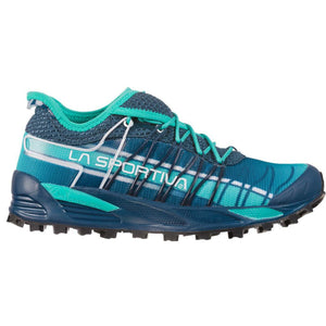 La Sportiva Women's Mutant Fell Running Shoes Opal / Aqua - achilles heel