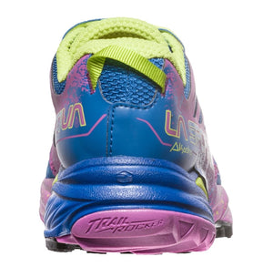 La Sportiva Women's Akasha Trail Running Shoes Marine Blue / Purple - achilles heel