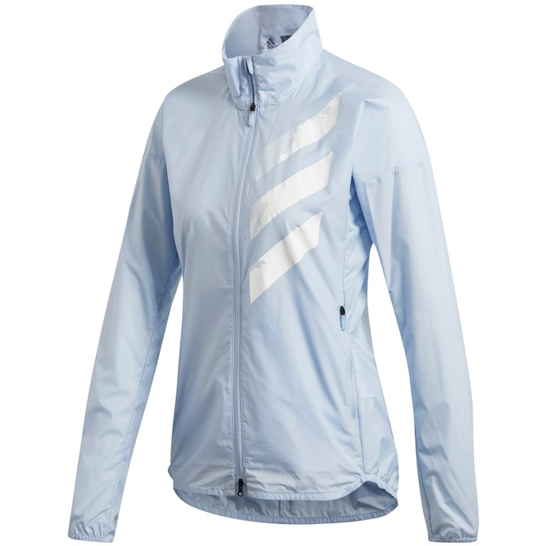 Adidas Women's Terrex Agravic Wind Jacket Easy Blue - achilles heel