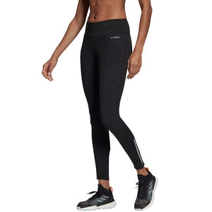 Adidas Women's Terrex Agravic Tight Black - achilles heel