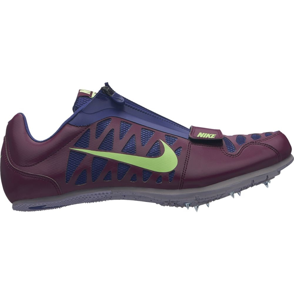 Nike Zoom Long Jump 4 Field Shoes Bordeaux / Lime Blast