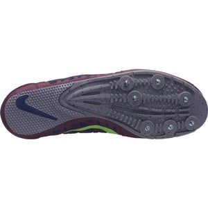 Nike Zoom Long Jump 4 Field Shoes Bordeaux / Lime Blast - achilles heel