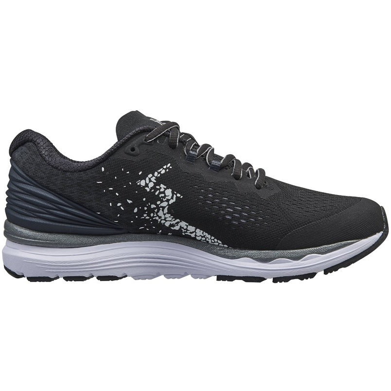 361 Degrees Men's Meraki 3 Running Shoes Black / Ebony - achilles heel