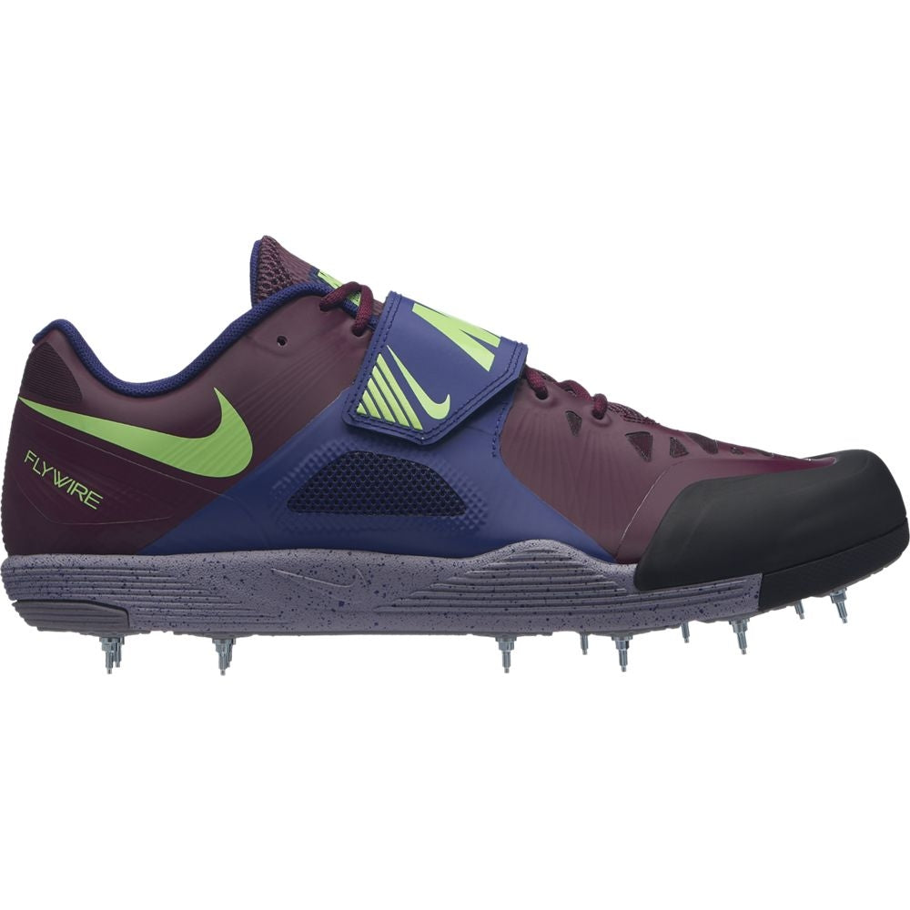 Nike Zoom Javelin Elite 2 Field Shoes Bordeaux / Lime Blast
