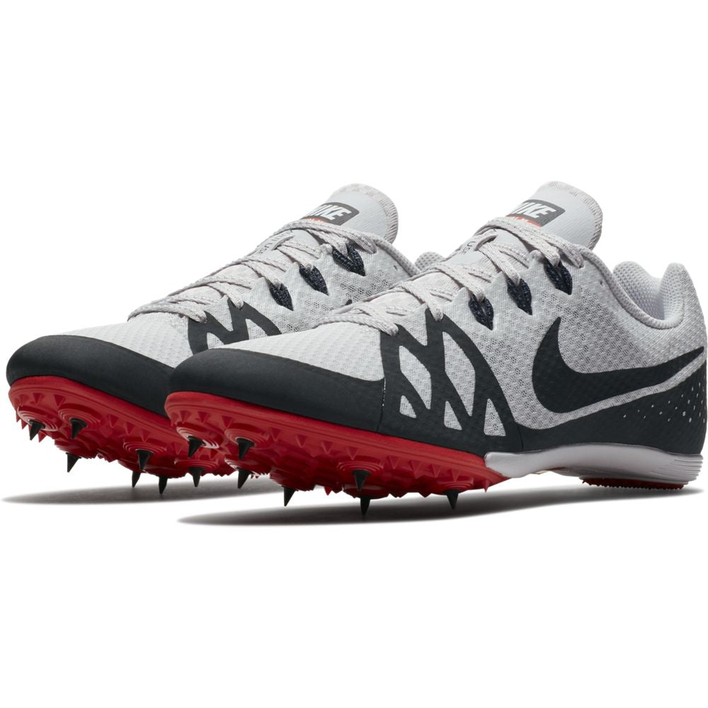 Nike Zoom Rival M 8 Running Spikes Vast Grey / Anthracite - achilles heel