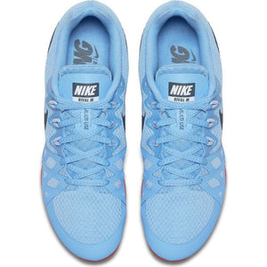 Nike Zoom Rival M 8 Running Spikes Football Blue / Blue Fox - achilles heel