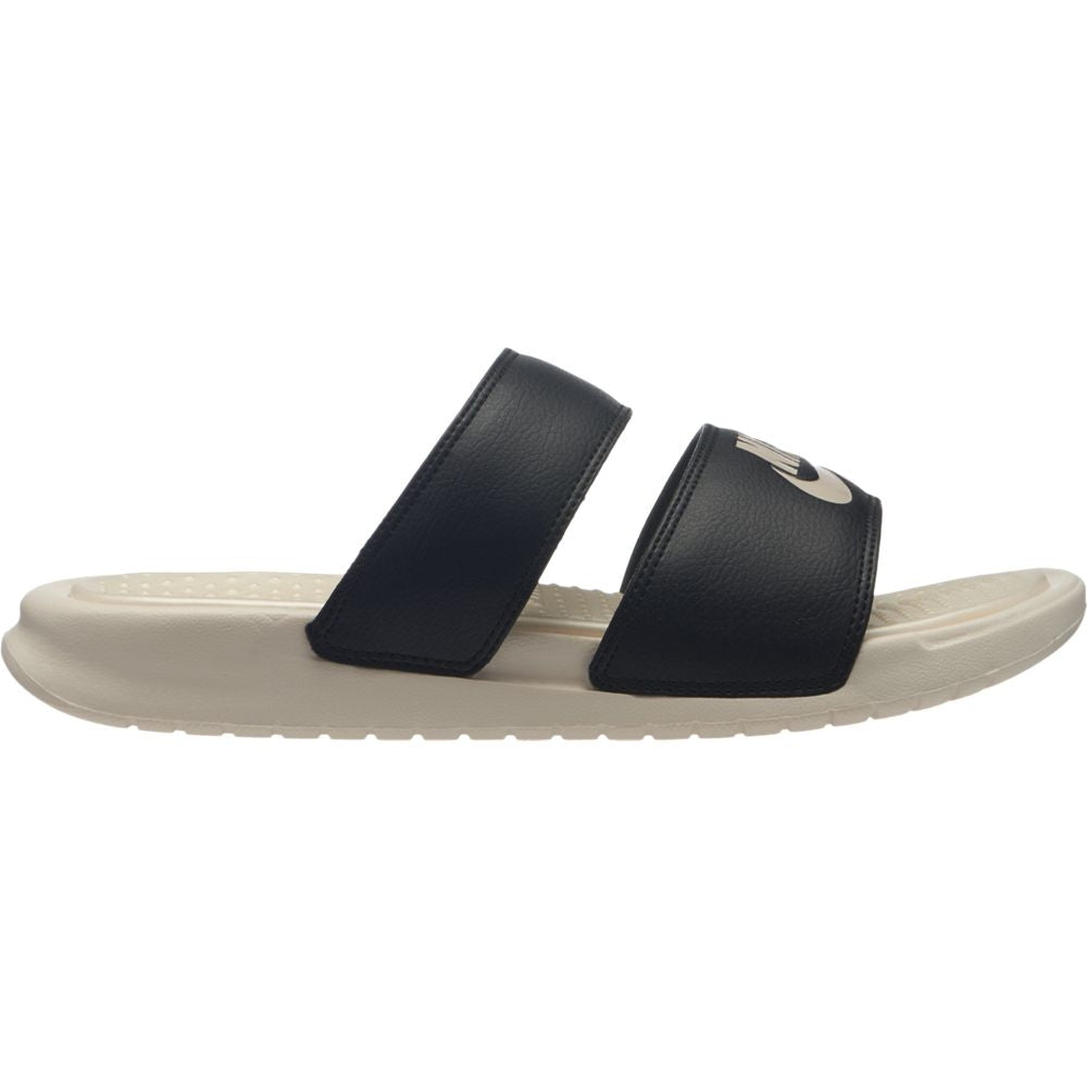 Nike Benassi Duo Women's Ultra Slide Black / Guava Ice - achilles heel