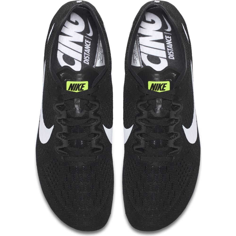 Nike Zoom Victory 3 Running Spikes Black / White-Volt - achilles heel