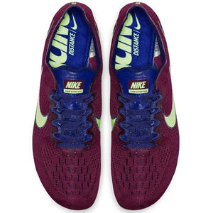 Nike Zoom Victory Elite 2 Running Spikes Regency Purple / Lime Blast - achilles heel